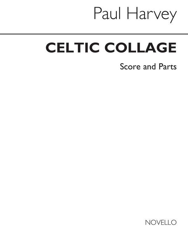 Celtic Collage: for 4 saxophones (SATBar) score and parts