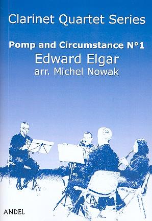 Pomp and Circumstance Nr.1: für 4 Klarinetten (BBBBass)