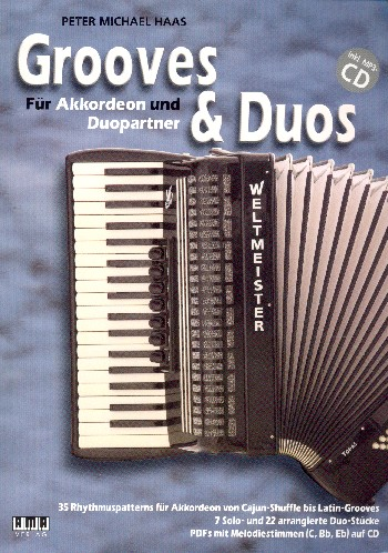 Accordion Tunes and Grooves (+CD): für 1-2 Akkordeons (Melodieinstrument ad lib)