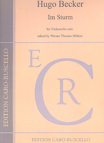 Im Sturm opus.14: für Violoncello