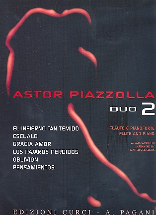 Piazzolla vol.2: for flute and piano