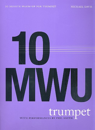 10 Minute Warm-up (+CD)  for trumpet
