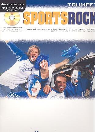 SportsRock (+CD): for trumpet
