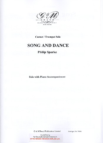 Song and Dance: for cornet or trumpet and piano