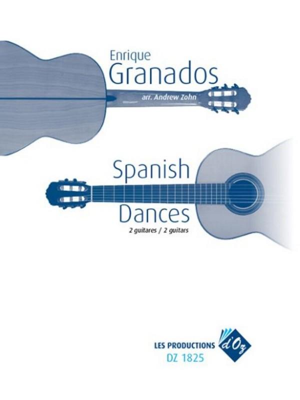 Spanish Dances: für 2 Gitarren