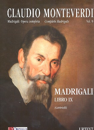 Complete Madrigals vol.9 (in modern clefs): for 2-3 voices and Bc