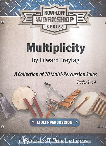 Multiplicity: for multi-percussion solo