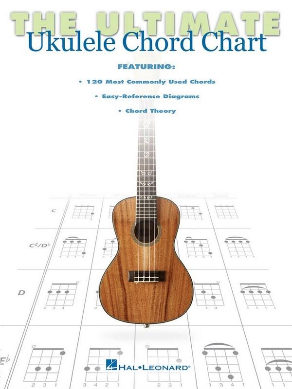 The Ultimate Ukulele Chord Chart: for ukulele