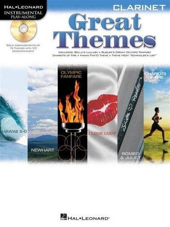 Great Themes (+CD) for clarinet