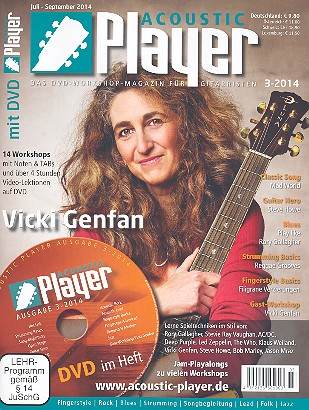 Acoustic Player 3/2014 (+DVD)