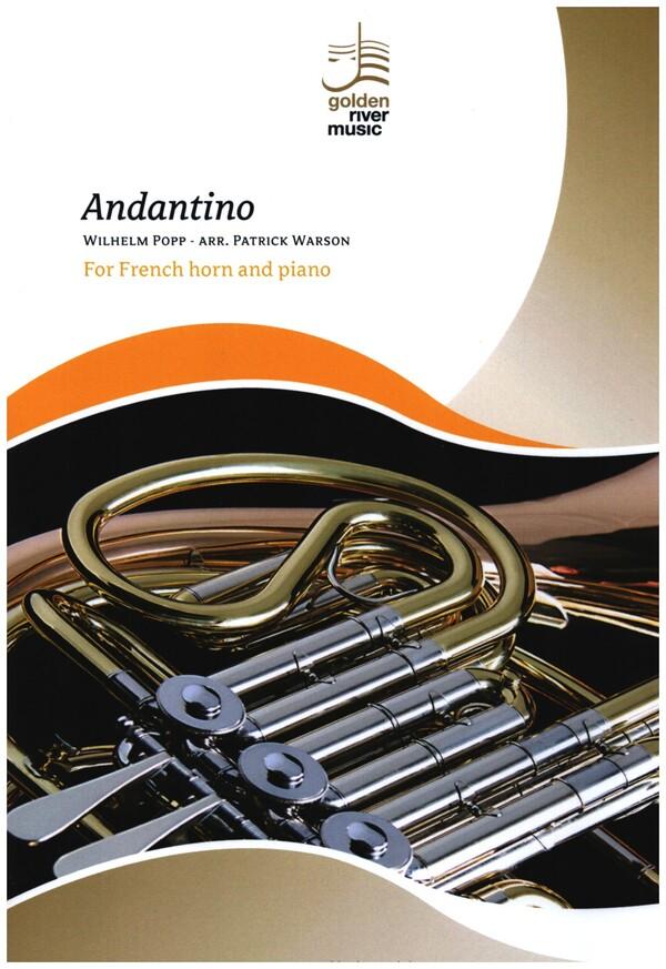Andantino: für Horn in F und Klavier