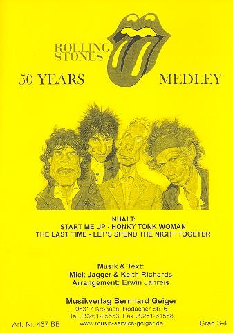 50 Years Rolling Stones (Medley): für Big Band