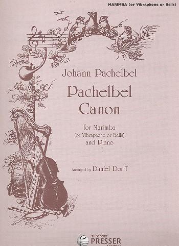 Canon: for marimba (vibraphone) and piano