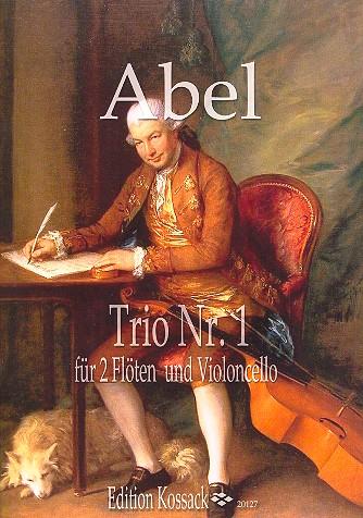 Abel, Karl Friedrich - Trio op.16,1 :
