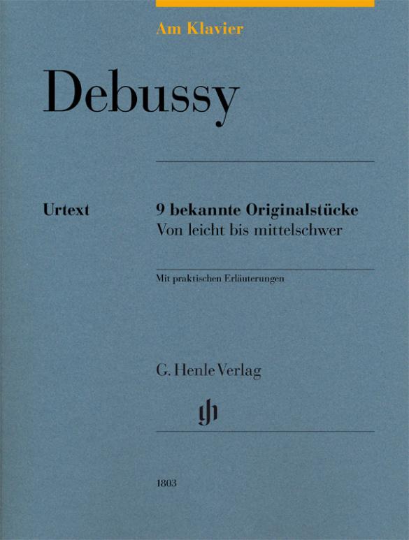 Debussy, Claude - 9 bekannte Originalstücke