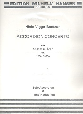 Concerto for Accordion and Orchestra: for accordion and piano