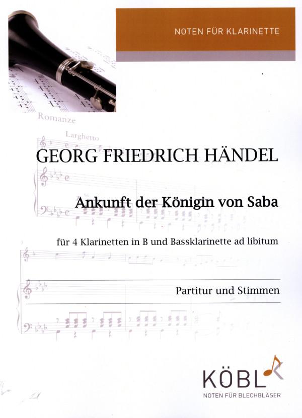 Händel, Georg Friedrich - Ankunft der Königin von Saba :