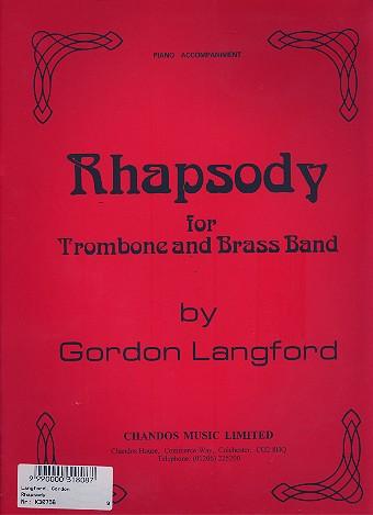 Rhapsody: for trombone and piano