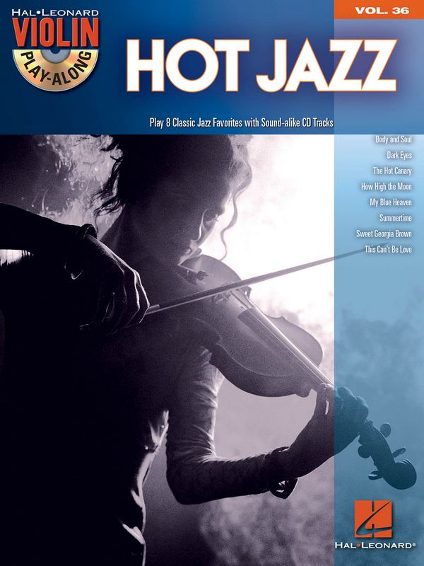Hot Jazz (+CD): for violin