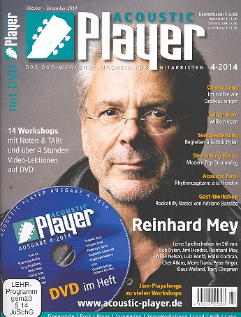 Acoustic Player 4/2014 (+DVD)
