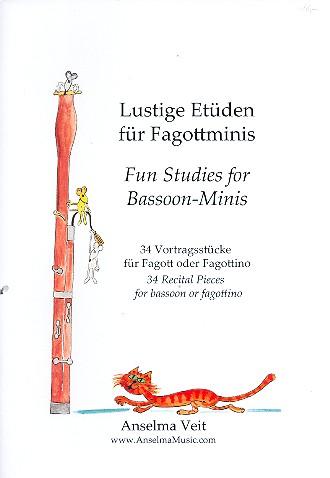 Lustige Etüden für Fagottminis: für Fagott (Fagottino)