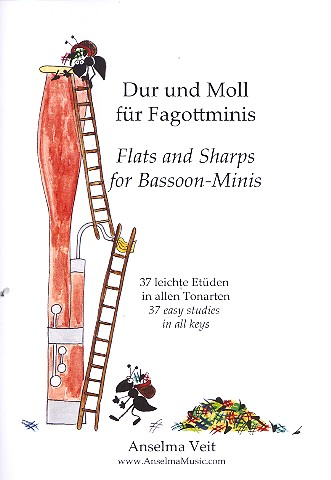 Dur und Moll für Fagottminis: für Fagott (Fagottino)