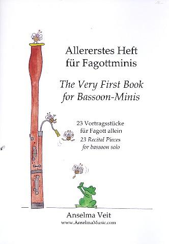 Allererstes Heft für Fagottminis: für Fagott