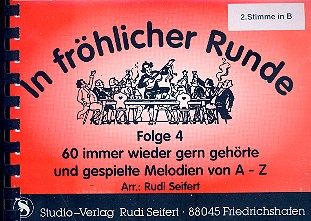 In fröhlicher Runde Band 4: für 4 Bläser (Ensemble)