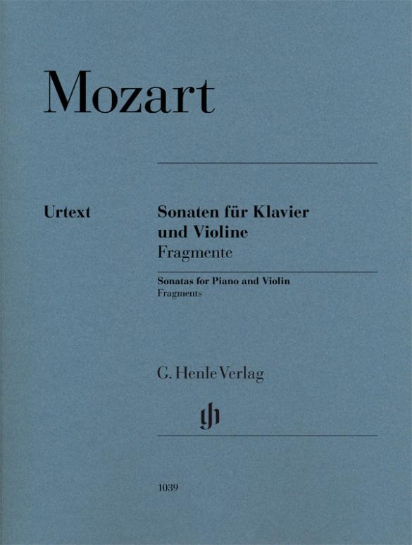 Mozart, Wolfgang Amadeus - Sonaten - Fragmente :