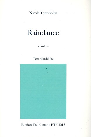 Rain Dance: für Tenorblockflöte