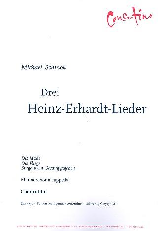 3 Heinz-Erhard-Lieder: für Männerchor a cappella