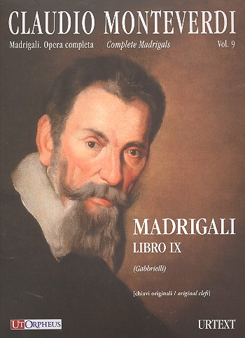 Complete Madrigals vol.9 (in original clefs): for 2-3 voices and Bc