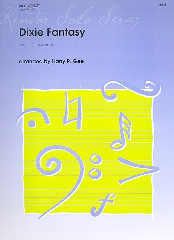 Dixie Fantasy: for clarinet and piano