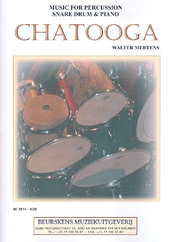 Chatooga: für Snare Drum und Klavier