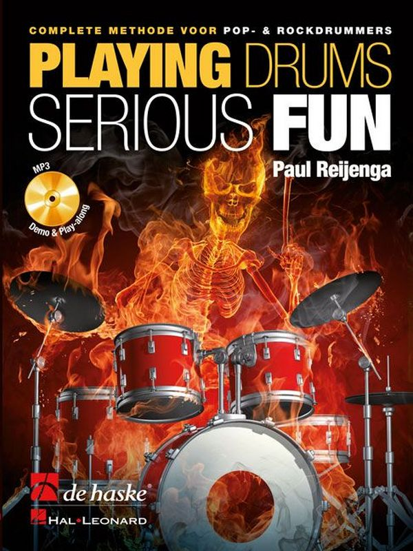 Reijenga, Paul - Playing Drums - Serious Fun (+MP3-CD) :