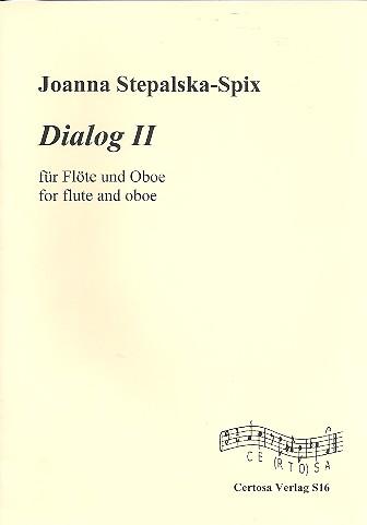Dialog Nr.2: für Flöte und Oboe