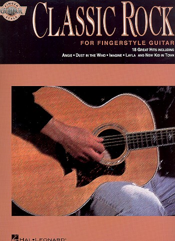 Classic Rock Style: for fingerstyle guitar/tab