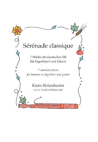 Sérénade classique: für Fagott (Fagottino) und Gitarre