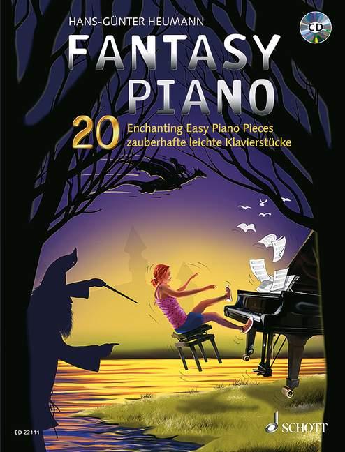 Heumann, Hans-Günter - Fantasy Piano (+CD) :