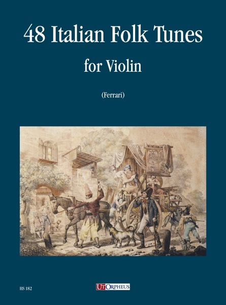 48 Italian Folk Tunes: for violin
