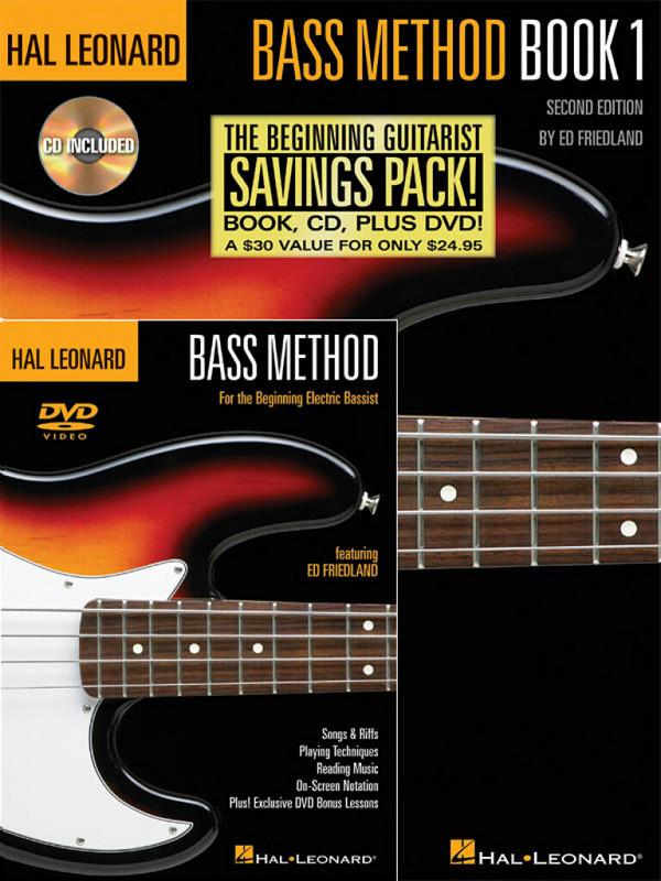 Bass Method Book vol.1 (+DVD): for bass/tab