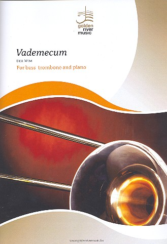 Vademecum for Bass Trombone and Concert Band: for bass trombone and piano