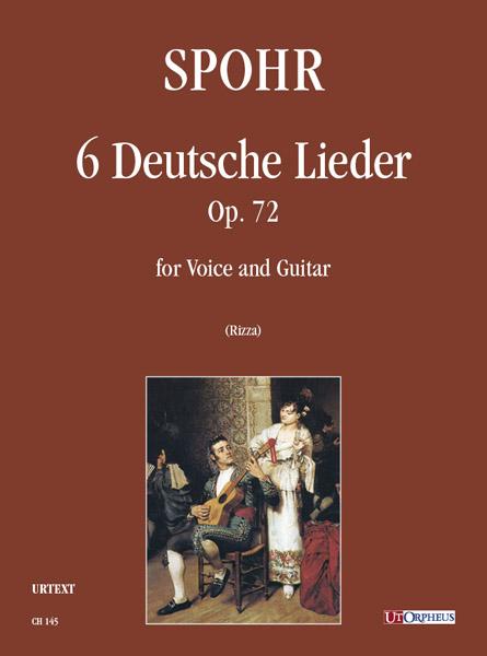 Spohr, Louis - 6 deutsche Lieder op.72 :