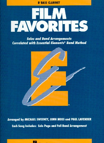 Film Favorites: for bb bass clarinet