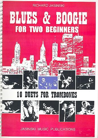 Blues and Boogie for 2 Beginners: für 2 Posaunen