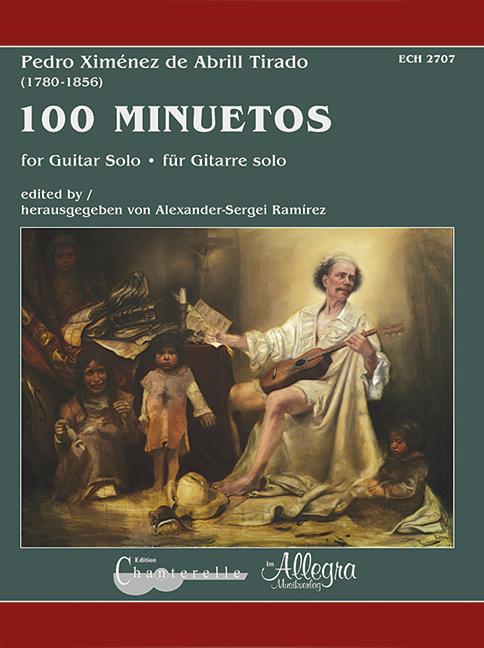 100 Minuetos: für Gitarre