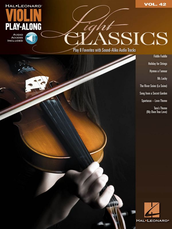 Light Classics (+Audio Access): for violin