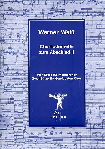 Chorliederhefte zum Abschied Band 2: für Männerchor (gem Chor a cappella