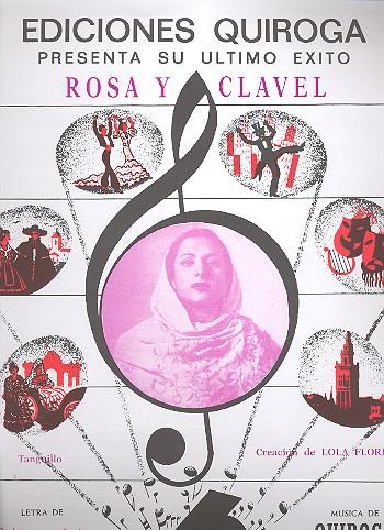 Rosa y clavel: para canto y piano