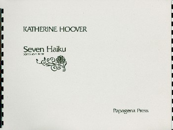 7 Haiku: for soprano and flute